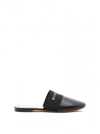 GIVENCHY Black Leather Loafers black