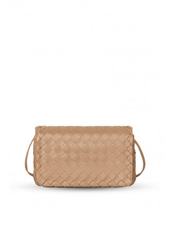 BOTTEGA VENETA SHOULDER BAG camel