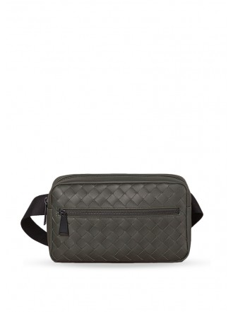 BOTTEGA VENETA  BELT BAG light graphite