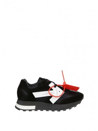 OFF-WHITE EVERYDAY SNEAKERS WITH CONTRASTING DETAIL IN BLACK - 50% OFF