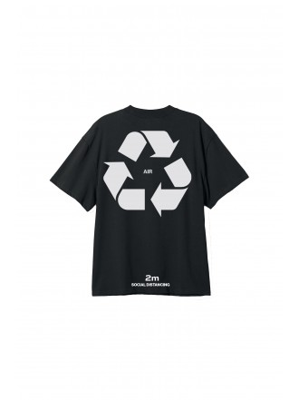 SU:MMA t-shirt social distancing - black
