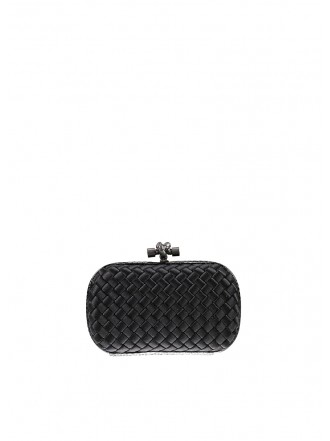 BOTTEGA VENETA Silk Knot nero  - 30% OFF