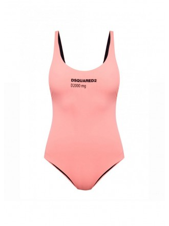 DSQUARED2 ONE-PIECE SWIMSUIT peach