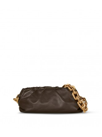 BOTTEGA VENETA The Chain Pouch- Fondente