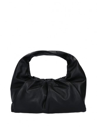 BOTTEGA VENETA shoulder pouch - nero