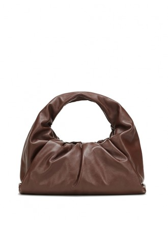 BOTTEGA VENETA shoulder pouch - bark - 30% OFF