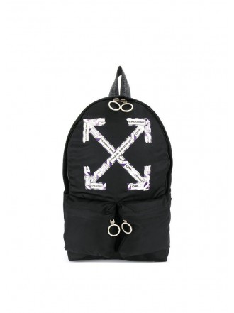 OFF WHITE AIRPORT TAPE BACKPACK