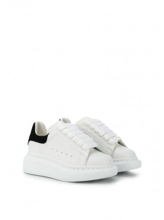 ALEXANDER MCQUEEN KIDS SHOES black