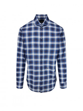 DSQUARED2  Check Relaxed Dan Shirt  1209326