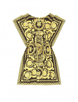 Versace BAROCCO PRINT COVER UP 25279