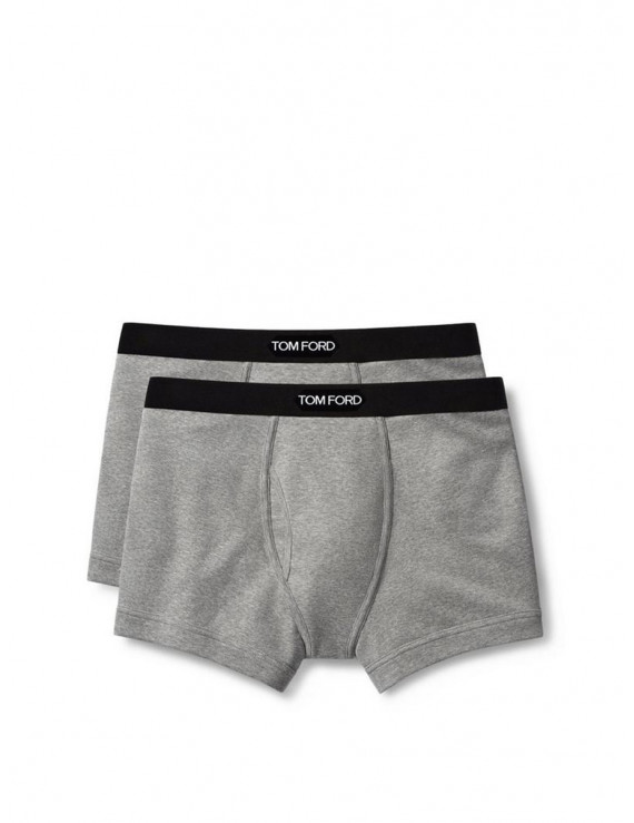 Tom Ford boxer brief two pack grey  T4XC31040020