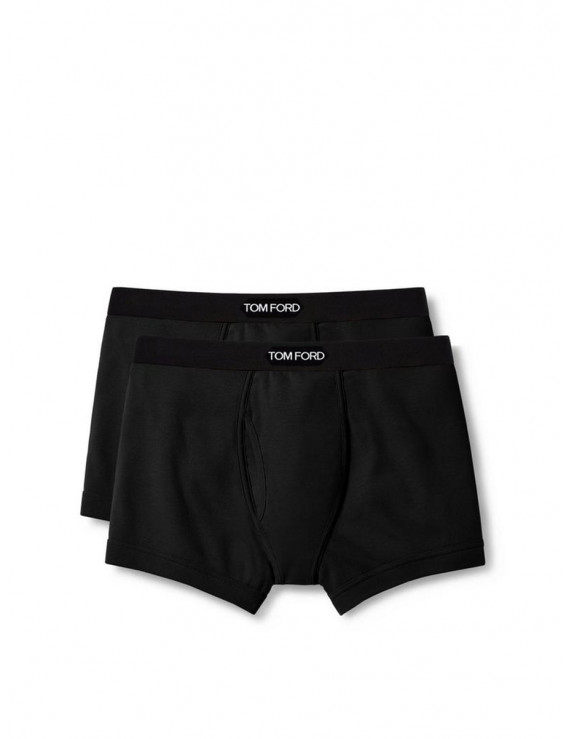 Tom Ford boxer brief two pack Black  T4XC3-1040-002