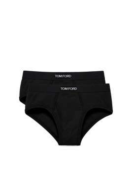 Tom Ford cotton brief Two Pack black  T4XC1-104-002