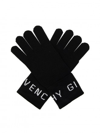 Givenchy wool gloves with logo 1204577