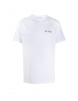 Off-White chest embroidered logo T-shirt 1208430