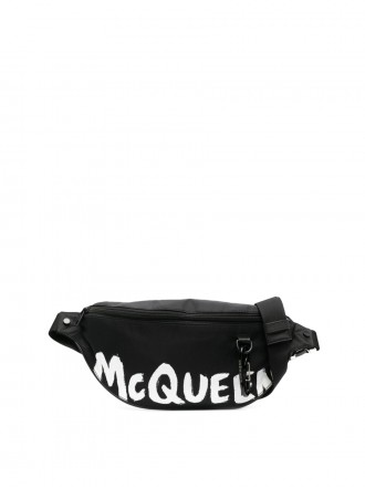 ALEXANDER MCQUEEN Harness oversize belt bag 8093798318