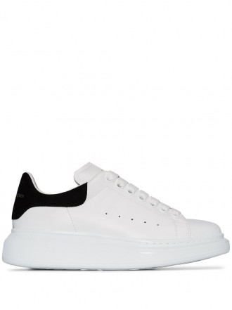 ALEXANDER MCQUEEN oversied sole sneakers - black 1203762