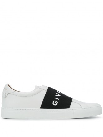 GIVENCHY Paris strap sneakers black